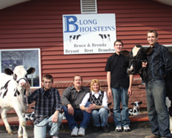 B-Long Holsteins, New London, Wis.