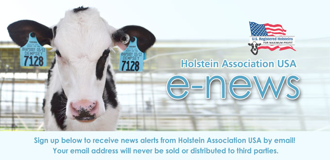 Holstein Association USA e-news